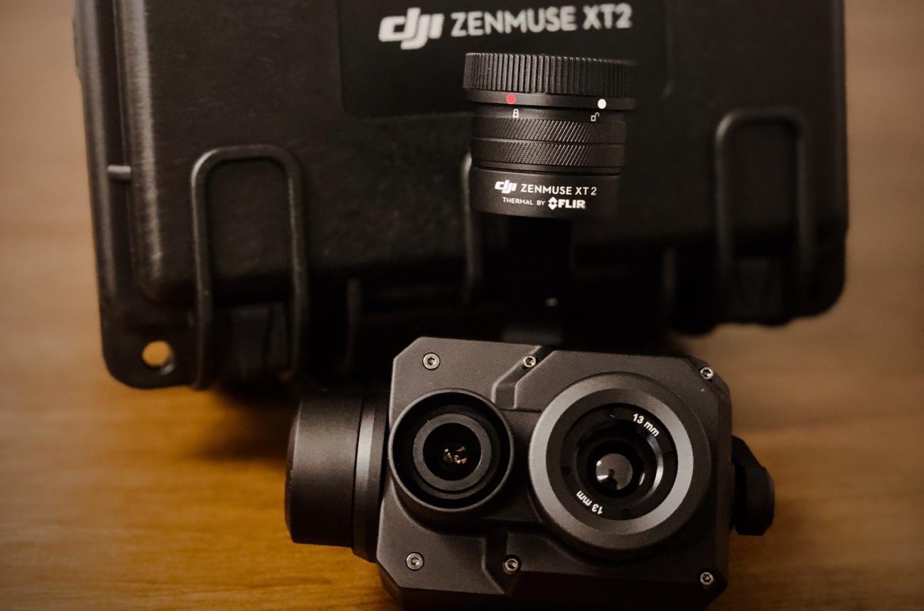 DJI Zenmuse XT2 640x512 13 mm